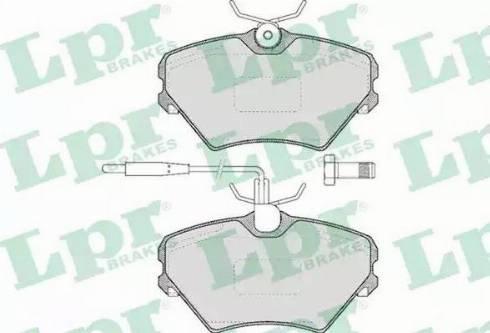 LPR 05P469 - Piduriklotsi komplekt,ketaspidur multiparts.ee