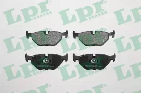 LPR 05P463 - Piduriklotsi komplekt,ketaspidur multiparts.ee