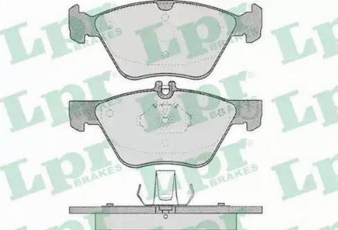 LPR 05P406 - Piduriklotsi komplekt,ketaspidur multiparts.ee