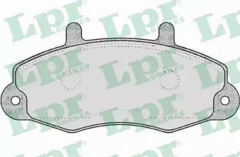 LPR 05P481 - Piduriklotsi komplekt,ketaspidur multiparts.ee