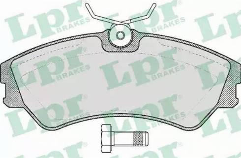 LPR 05P439 - Piduriklotsi komplekt,ketaspidur multiparts.ee