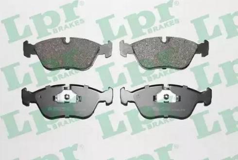LPR 05P436 - Piduriklotsi komplekt,ketaspidur multiparts.ee