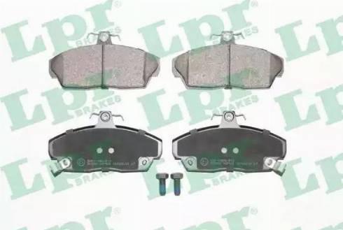 LPR 05P430 - Piduriklotsi komplekt,ketaspidur multiparts.ee