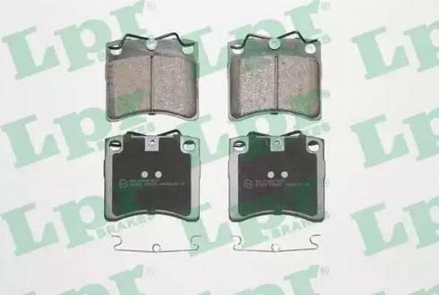 LPR 05P437 - Piduriklotsi komplekt,ketaspidur multiparts.ee