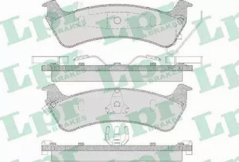 LPR 05P595 - Piduriklotsi komplekt,ketaspidur multiparts.ee