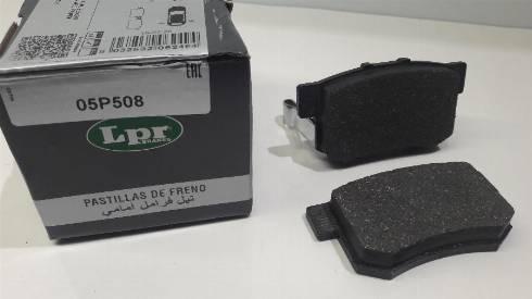 LPR 05P508 - Piduriklotsi komplekt,ketaspidur multiparts.ee