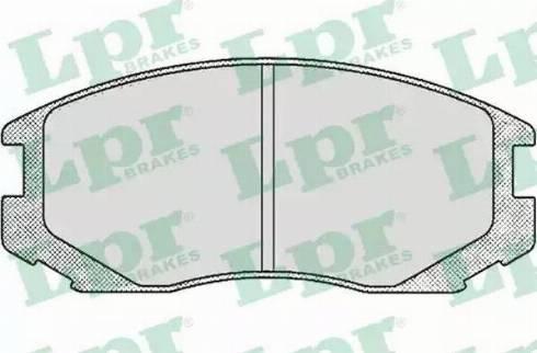 LPR 05P502 - Piduriklotsi komplekt,ketaspidur multiparts.ee