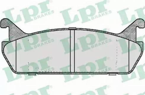 LPR 05P513 - Piduriklotsi komplekt,ketaspidur multiparts.ee