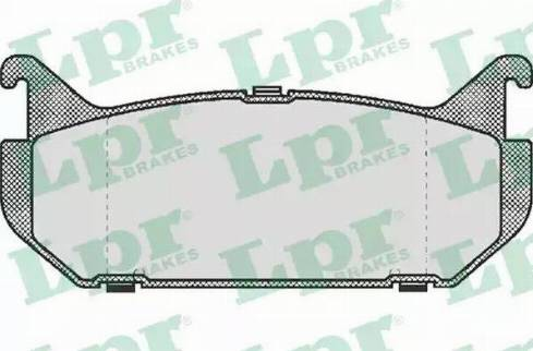 LPR 05P512 - Piduriklotsi komplekt,ketaspidur multiparts.ee