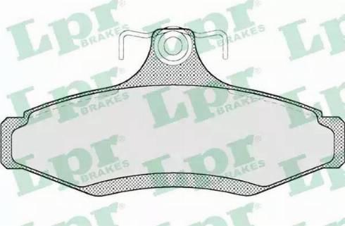 LPR 05P694 - Piduriklotsi komplekt,ketaspidur multiparts.ee