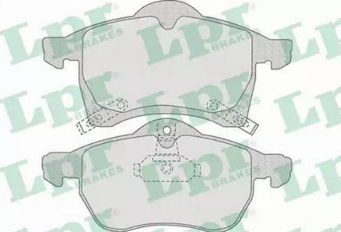 LPR 05P690 - Piduriklotsi komplekt,ketaspidur multiparts.ee