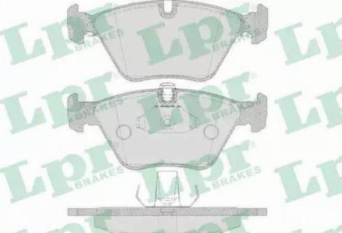 LPR 05P649 - Piduriklotsi komplekt,ketaspidur multiparts.ee