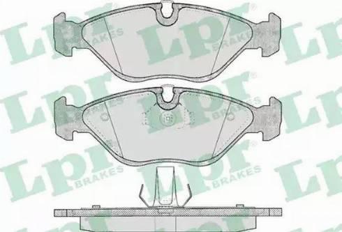 LPR 05P656 - Piduriklotsi komplekt,ketaspidur multiparts.ee