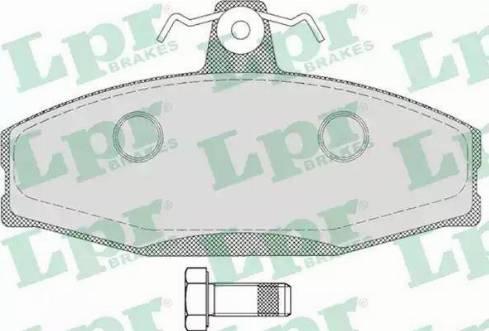LPR 05P651 - Piduriklotsi komplekt,ketaspidur multiparts.ee