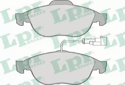 LPR 05P664 - Piduriklotsi komplekt,ketaspidur multiparts.ee