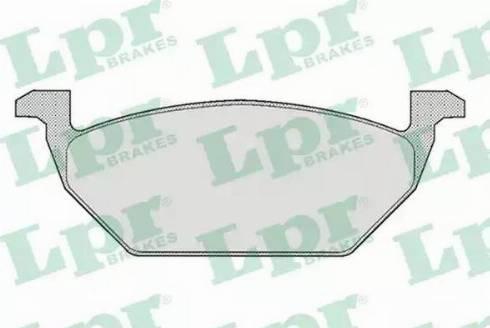 LPR 05P668 - Piduriklotsi komplekt,ketaspidur multiparts.ee