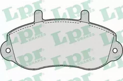 LPR 05P663 - Piduriklotsi komplekt,ketaspidur multiparts.ee