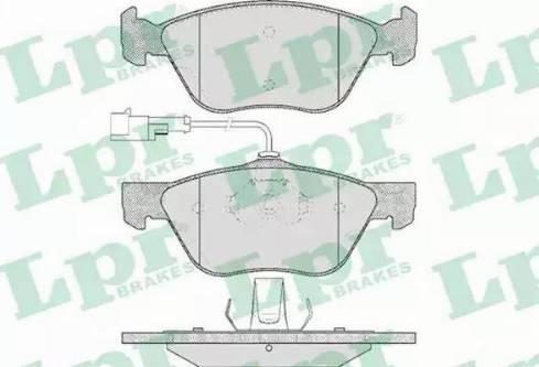 LPR 05P614 - Piduriklotsi komplekt,ketaspidur multiparts.ee