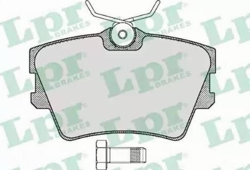 LPR 05P616 - Piduriklotsi komplekt,ketaspidur multiparts.ee