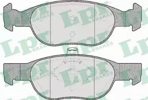 LPR 05P688 - Piduriklotsi komplekt,ketaspidur multiparts.ee