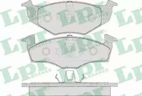 LPR 05P627 - Piduriklotsi komplekt,ketaspidur multiparts.ee