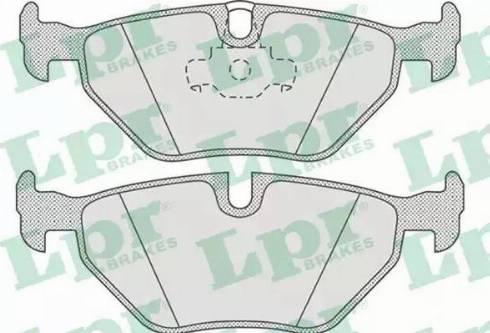 LPR 05P675 - Piduriklotsi komplekt,ketaspidur multiparts.ee