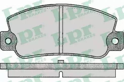 LPR 05P095 - Piduriklotsi komplekt,ketaspidur multiparts.ee