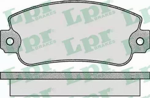 LPR 05P006 - Piduriklotsi komplekt,ketaspidur multiparts.ee