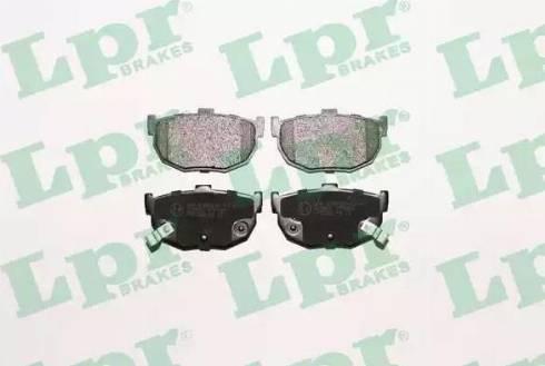 LPR 05P089 - Piduriklotsi komplekt,ketaspidur multiparts.ee