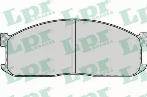 LPR 05P039 - Piduriklotsi komplekt,ketaspidur multiparts.ee