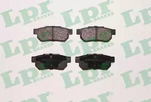 LPR 05P072 - Piduriklotsi komplekt,ketaspidur multiparts.ee