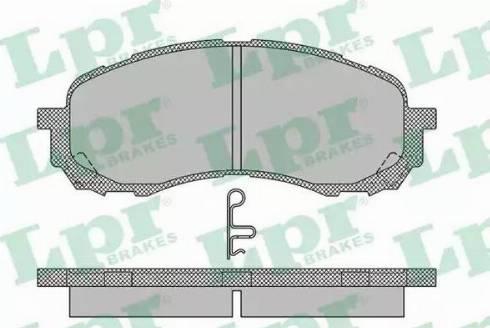 LPR 05P1454 - Piduriklotsi komplekt,ketaspidur multiparts.ee