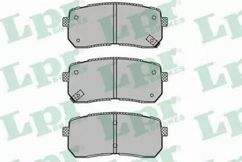 LPR 05P1450 - Piduriklotsi komplekt,ketaspidur multiparts.ee
