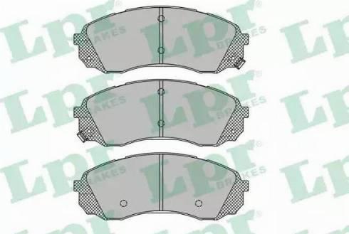 LPR 05P1451 - Piduriklotsi komplekt,ketaspidur multiparts.ee