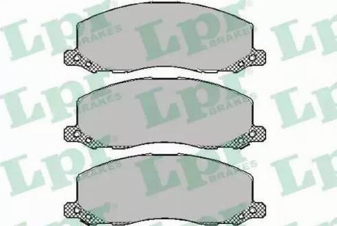 LPR 05P1468 - Piduriklotsi komplekt,ketaspidur multiparts.ee