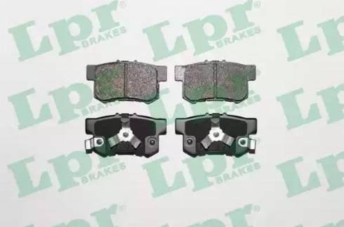 LPR 05P1404 - Piduriklotsi komplekt,ketaspidur multiparts.ee