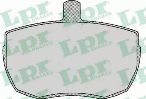 LPR 05P140 - Piduriklotsi komplekt,ketaspidur multiparts.ee