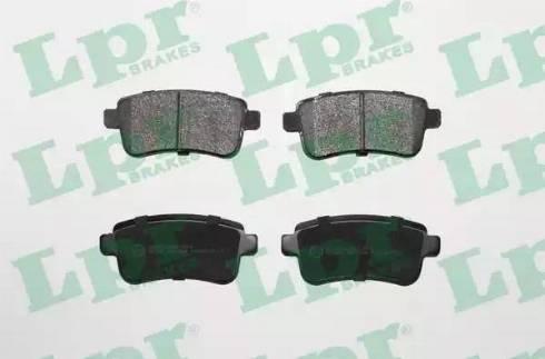 LPR 05P1484 - Piduriklotsi komplekt,ketaspidur multiparts.ee