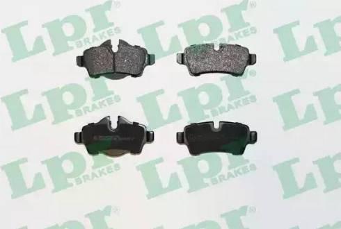 LPR 05P1481 - Piduriklotsi komplekt,ketaspidur multiparts.ee