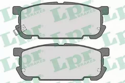LPR 05P1488 - Piduriklotsi komplekt,ketaspidur multiparts.ee