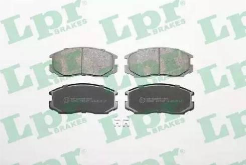 LPR 05P1427 - Piduriklotsi komplekt,ketaspidur multiparts.ee
