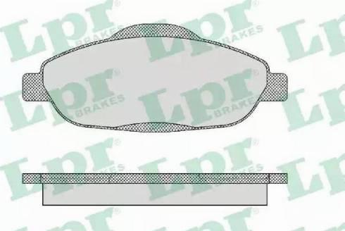 LPR 05P1471 - Piduriklotsi komplekt,ketaspidur multiparts.ee