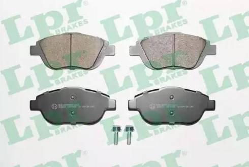 LPR 05P1590 - Piduriklotsi komplekt,ketaspidur multiparts.ee