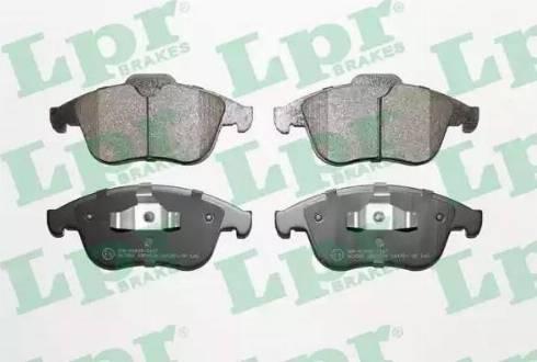 LPR 05P1534 - Piduriklotsi komplekt,ketaspidur multiparts.ee