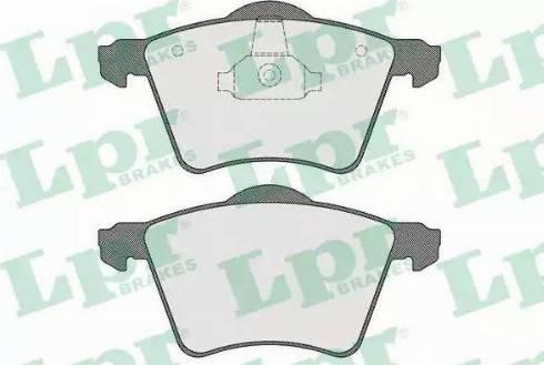 LPR 05P1525 - Piduriklotsi komplekt,ketaspidur multiparts.ee
