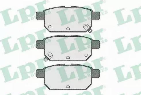 LPR 05P1571 - Piduriklotsi komplekt,ketaspidur multiparts.ee