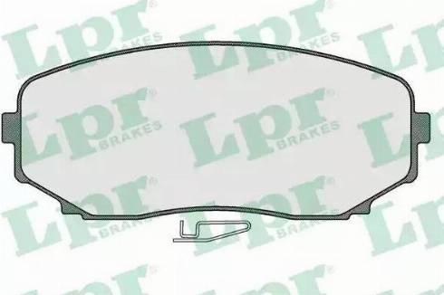 LPR 05P1573 - Piduriklotsi komplekt,ketaspidur multiparts.ee