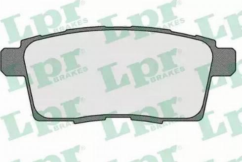 LPR 05P1572 - Piduriklotsi komplekt,ketaspidur multiparts.ee