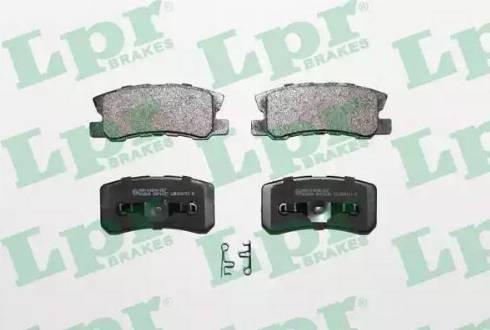 LPR 05P1639 - Piduriklotsi komplekt,ketaspidur multiparts.ee