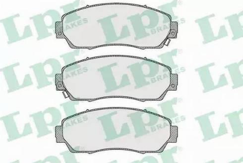 LPR 05P1634 - Piduriklotsi komplekt,ketaspidur multiparts.ee